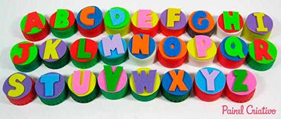 Alfabeto De Parede Turminha