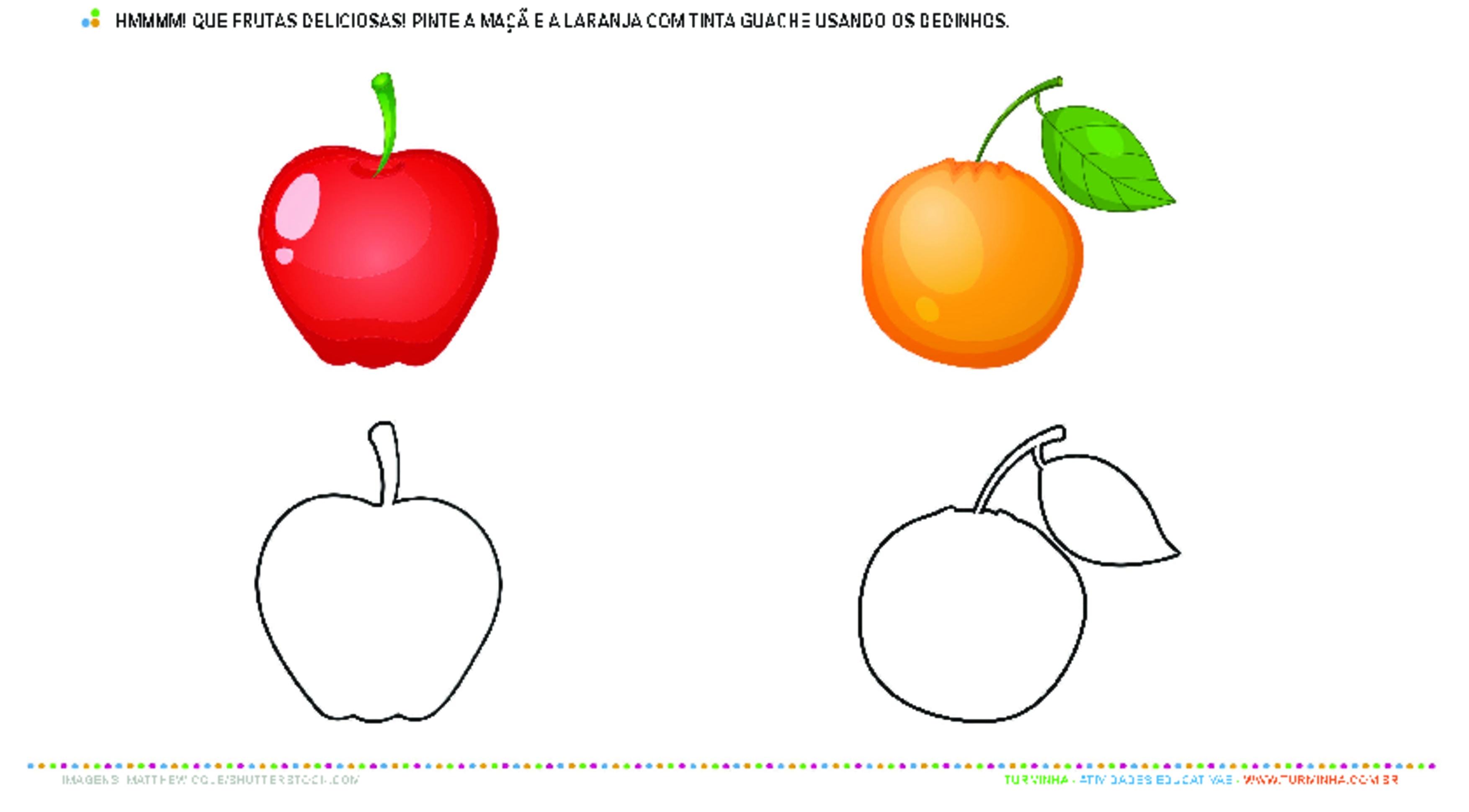Identificando padrões e cores - atividade educativa para Creche (0 a 3 anos)
