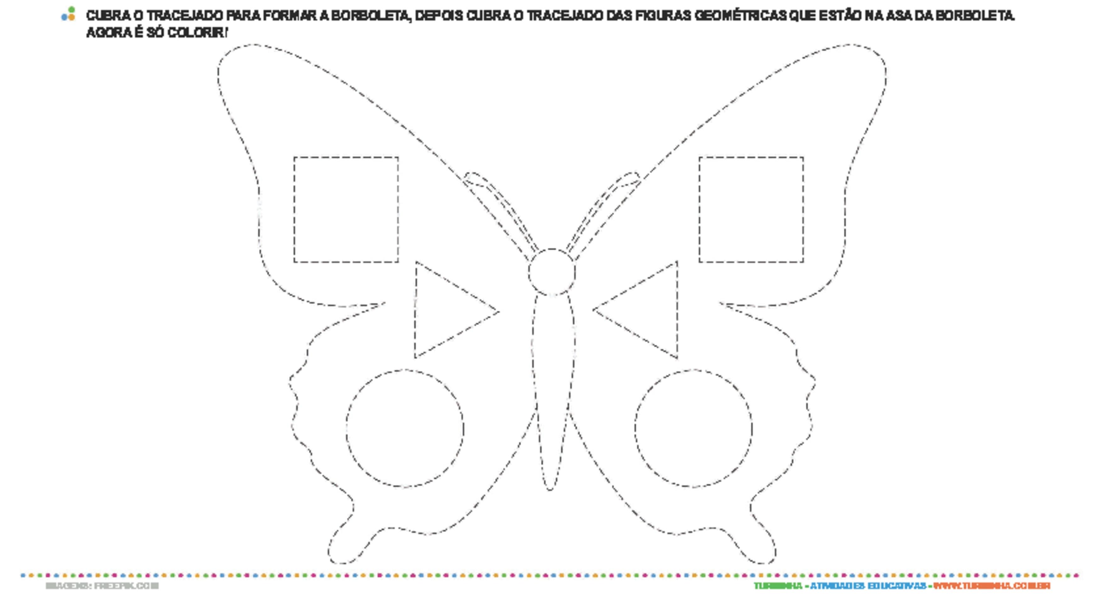 Descobrindo Formas Geométricas - atividade educativa para Creche (0 a 3 anos)