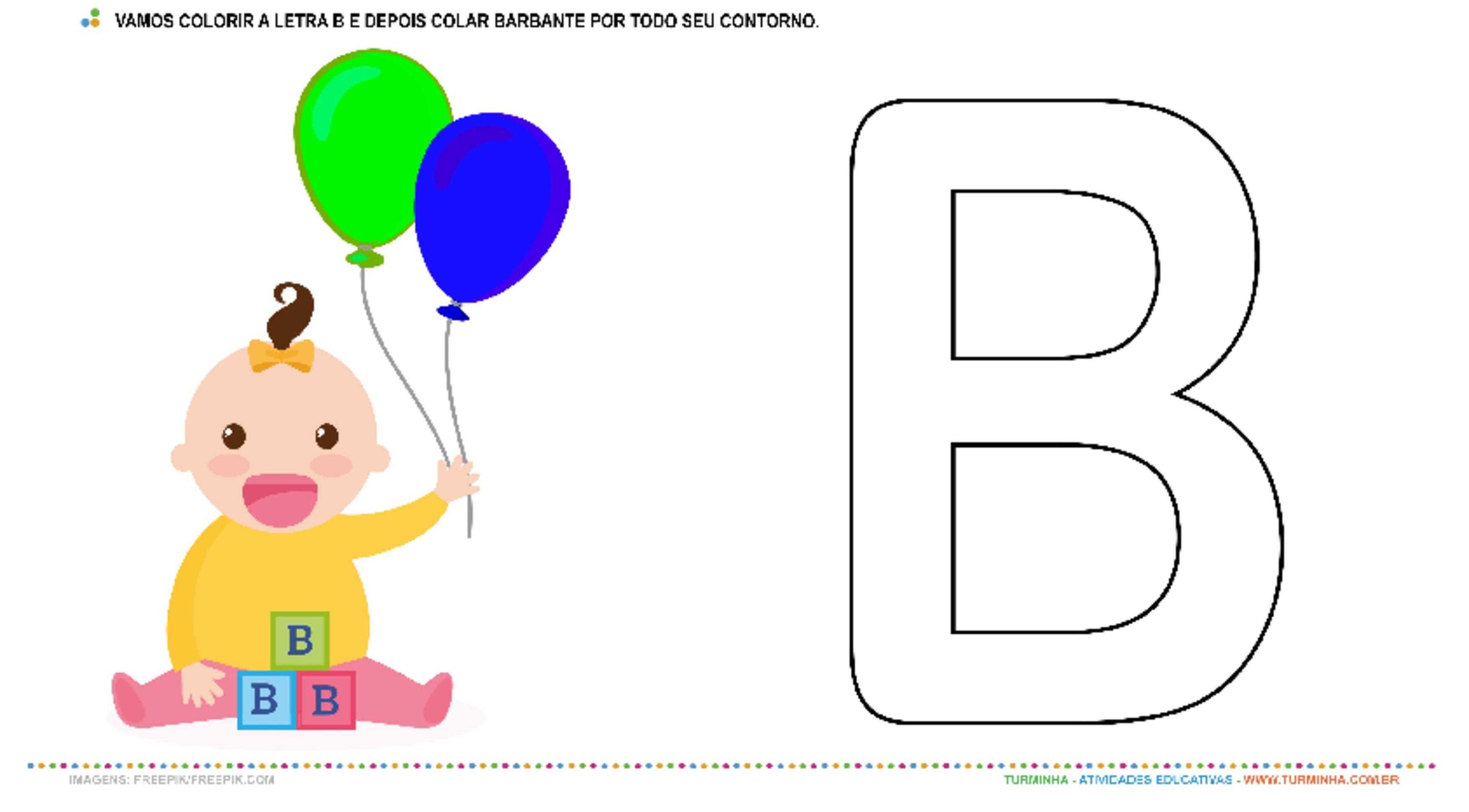 O Bebê, a Bexiga e a letra