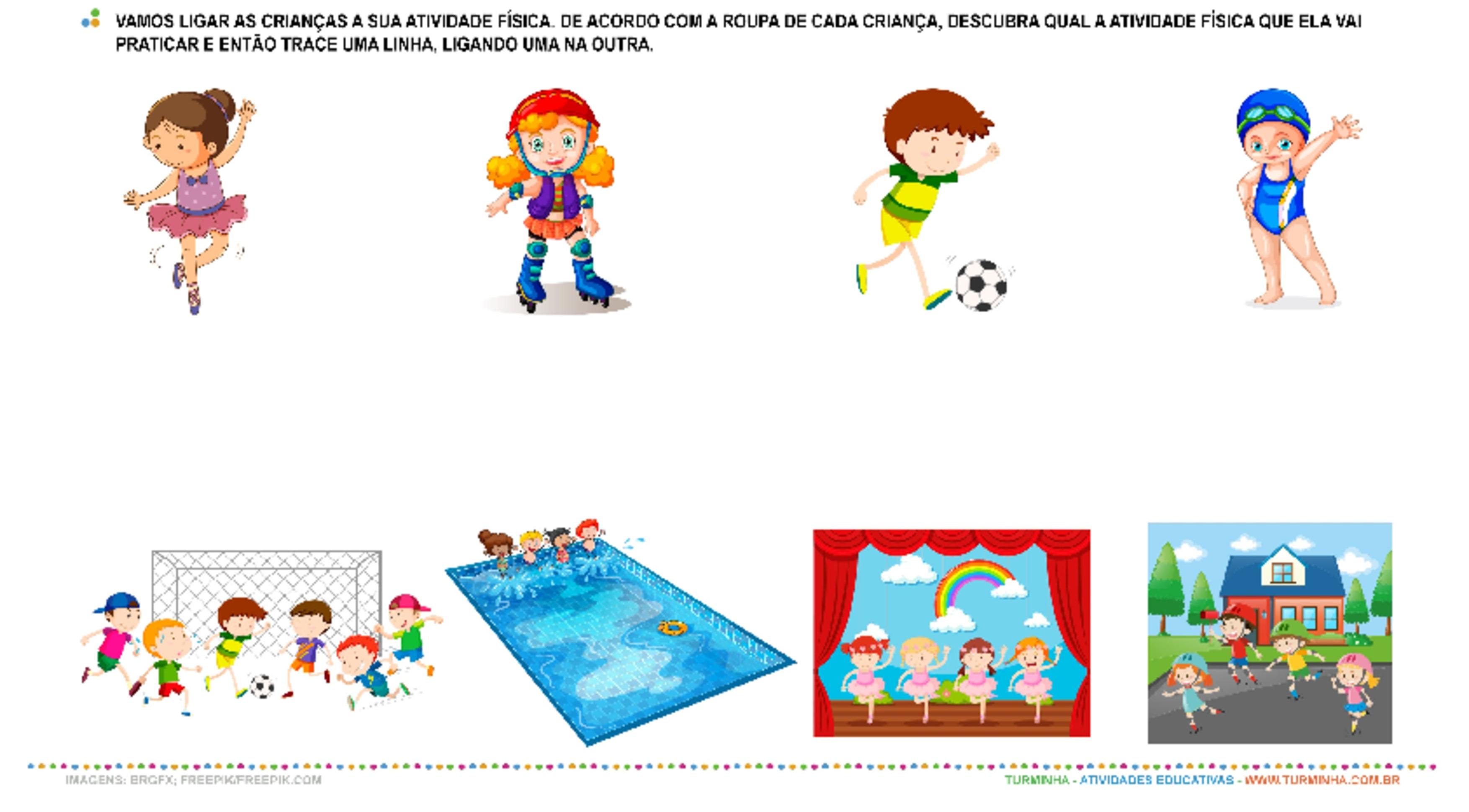 Corpo, Movimento e Saúde - atividade educativa para Creche (0 a 3 anos)