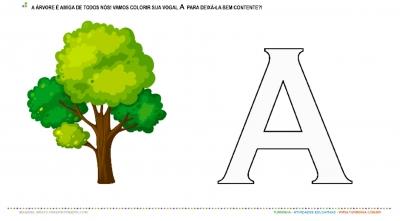 A Árvore e a vogal