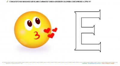 Emoji e a vogal E