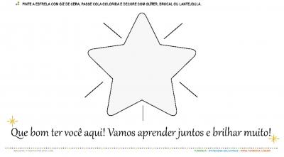 Volta às Aulas - Estrela Brilhante