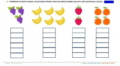 Salada de Fruta – Números e Quantidade