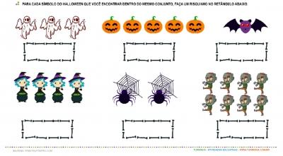 Halloween – Números e Quantidade