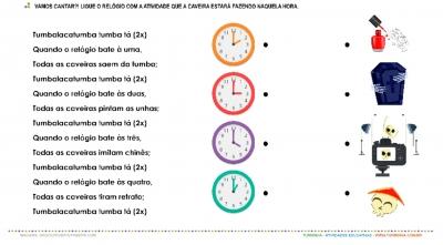 Tumbalacatumba – Trabalhando as horas
