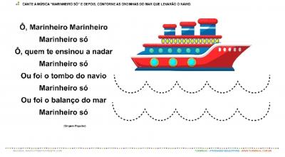 "Cantiga Popular: ""Marinheiro Só"" - Motricidade"