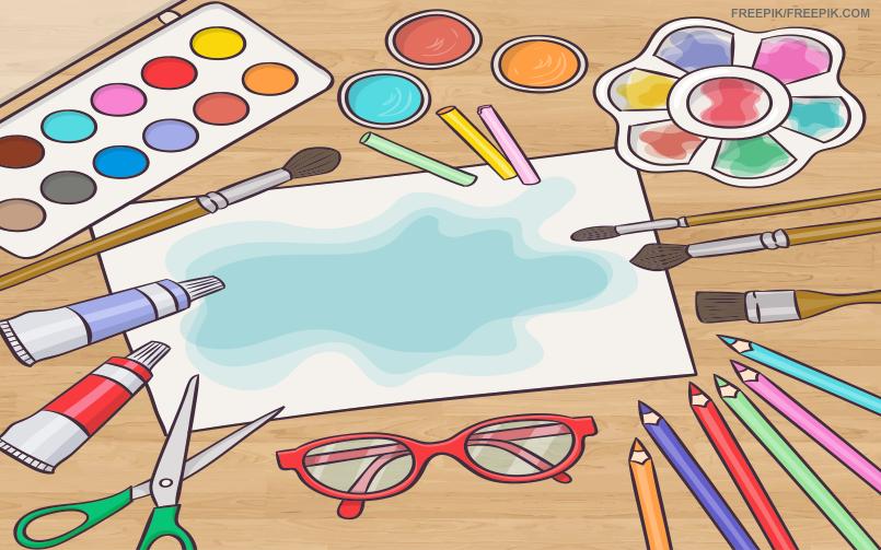 Importancia Das Atividades Com Colagem Desenho E Pintura Na